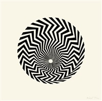 untitled [based on 'primitive blaze'] by bridget riley